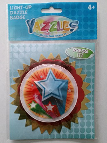 Yazzles Light-up Dazzle Badge Stars