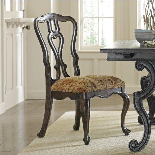 Stanley Furniture Portfolio Rustica Dining Side Chair In Sorrel front-1034584