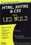 echange, troc Jeff NOBLE, Ed TITTEL - HTML, XHTML et CSS poche pour les Nuls 3e édition