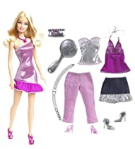 Barbie Fab Life Doll  and  Fashion - Pink Pants  and  Accessories