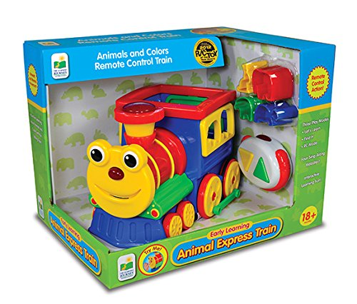 The Learning Journey Animal Express Remote Control Shape Sorter Train