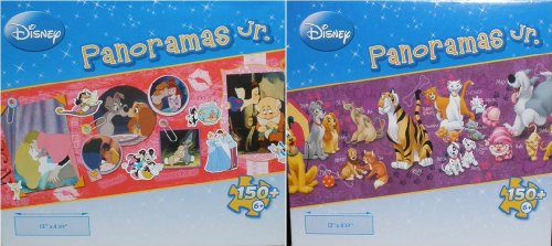 Disney Panoramas Jr. *The Disney Kiss*