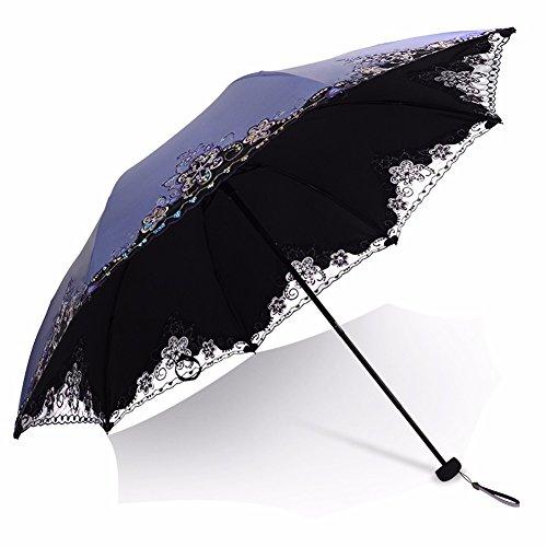 ssby-umbrella-folding-umbrella-of-black-plastic-umbrella-female-creative-dual-use-super-sun-protecti