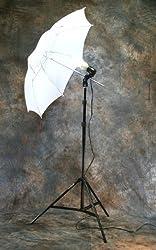 ePHoto Photography Studio Continuous Lighting Umbrella Kit + Free 45 Watts 5500k Fluorescent Photo Lamp Bulb by ePhoto INC Dk1