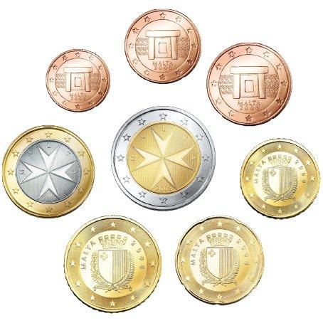 malta-euro-munzsatz-lose-1-cent-2-euro-8-munzen
