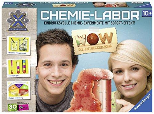 Ravensburger-ScienceX-18937-Chemiebaukasten-WOW-Die-Entdeckerzone