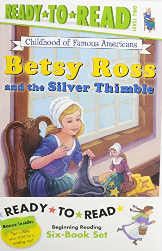 Childhood of Famous Americans Ready-to-Read Value Pack #2: Abigail Adams; Amelia Earhart; Clara Barton; Annie Oakley Saves the Day; Helen Keller and ... and the Silver Thimble (Ready-to-read COFA) PDF