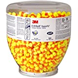 3M E-A-R Classic 391-1002 Yellow Medium Polyurethane Foam Uncorded Barrel Ear Plugs - 30 dB NRR - 70071514890 [PRICE is per BOTTLE]
