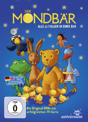 Der Mondbär Collection 1, Folgen 01-22 [3 DVDs]