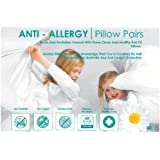 Love2Sleep ANTI ALLERGY HOLLOW FIBRE PILLOW PAIRS - TWIN PACK SOFT/ MEDIUM SUPPORT