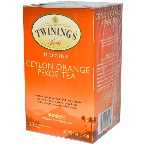 Twinings Of London Ceylon Orange Pekoe Tea (Box Of 20)