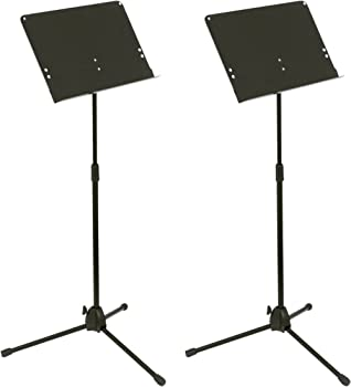2-Pack Musician's Gear Folding Music Stand