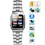 1.6 Inch Quad-band GSM Unlocked Mini Watch Cell Phone Tw810 with Mp3 Mp4 Java Bluetooth -... by KI