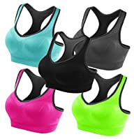Fittin� Women's Padded Sports Bras Hi…
