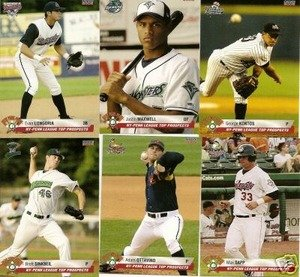 2006 NY Penn League Top Prospects New York Mets Team Set BROOKLYN CYCLONES Mint by Choice