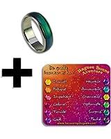 La véritable bague d'humeur - Taille au choix - Change de couleur en fonction de votre humeur - Mood ring