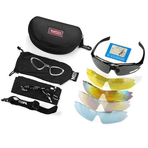Learn More About Anti Glare Black Frame Multi Sport Outdoor Running Cycling UV400 Polarized Sunglass...
