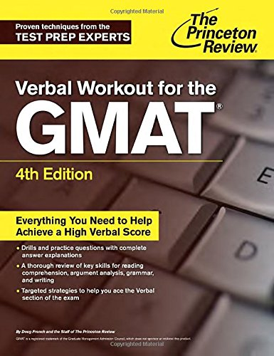 Verbal Workout for the GMAT (Princetown Review)
