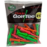 Pride Golf Tee - 2-3 4 Inch Stepdown Tee - 25 Count