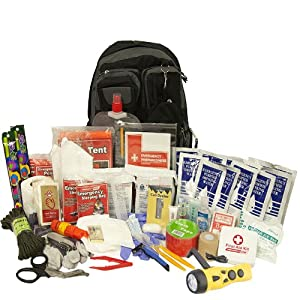 Urban Survival Bug Out Bag, 2 Person Emergency Disaster Kit, Emergency Zone Brand by Emergency Zone