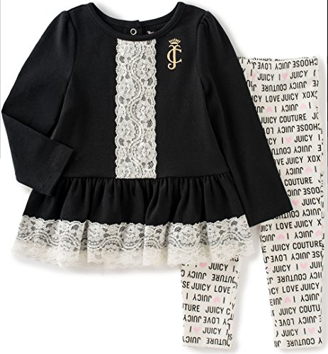 juicy-couture-baby-girls-2-piece-tunic-with-lace-accent-and-legging-set-black-12-months