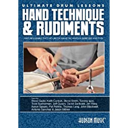 Ultimate Drum Lessons: Hand Technique and Rudiments DVD