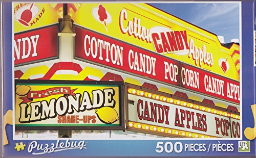 Puzzlebug 500 ~ Food Concessions Stand Sign at the County Fair - 1