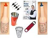 Flair Bartending Kit - Illustrated Bottles