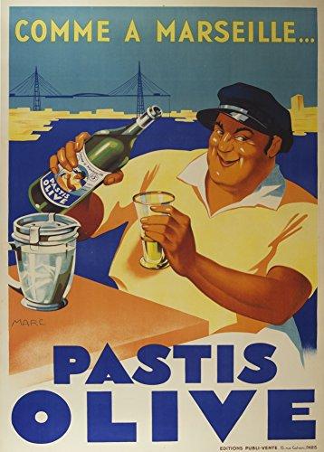 millesime-bieres-vins-et-spiritueux-pastis-olive-comme-a-marseille-environ-1936-sur-format-a3-papier
