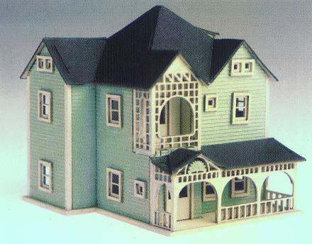 Cabins Kits on Miniature Log Cabin Kit Dollhouse Miniature   Doll Accessories