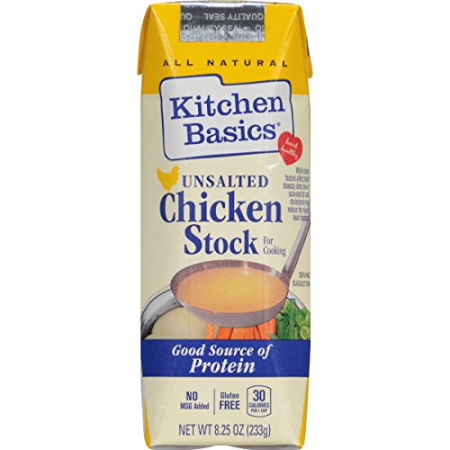 Kitchen Basics No Salt Stock, Chicken, 8.25 Ounce (Pack of 12) (Sodium Free Foods compare prices)