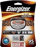 Energizer Trailfinder  Pro-6  LEDHeadlight, # HDL33AODE,  Dark Orange/Black design, with 3AAA Batteries included
