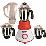 Sunmeet 600 Watts MG16-40 Red And White 4 Jars Mixer Grinder Direct Factory Outlet
