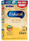 Enfamil Infant Formula Milk-Based with Iron, Refill Box, 33.2 Ounce (Packaging May Vary)