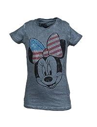 KIDS rilancio Disney T-Shirt Minnie arco borchie Anthrazito