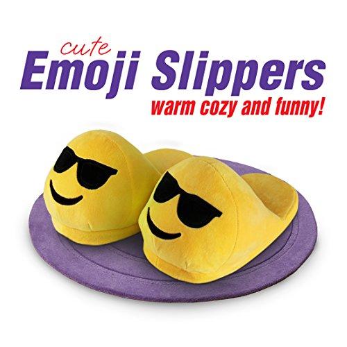 BriteNway-Zapatillas-de-estar-por-casa-de-Terciopelo-para-mujer-Amarillo-amarillo