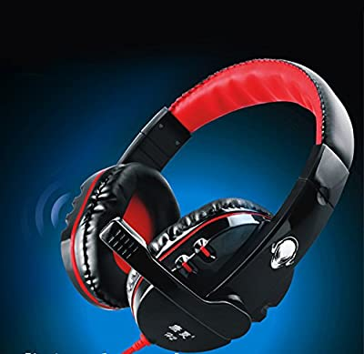 {Factory Direct Sale} Pro Gaming Stereo Headphones Headset Earphone w/ MIC for PC Computer Laptop