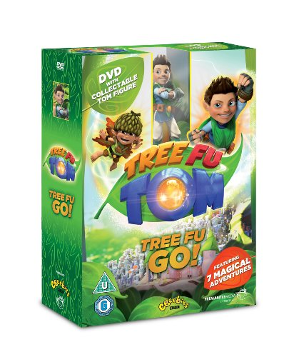 Tree Fu Tom, Tree Fu Go - DVD With Collectible Tom Figure - Limited Edition