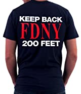 MALTESE CROSS - KEEP BACK 200 FEET ON BACK T-SHIRT