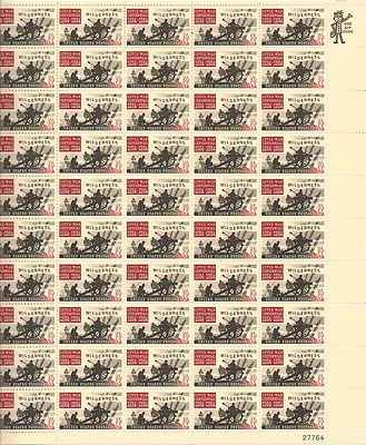 Civil War Battle of the Wilderness Sheet of 50 x 5 Cent US Postage Stamps #1181