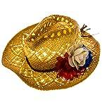 Americana Straw Cowboy Hat