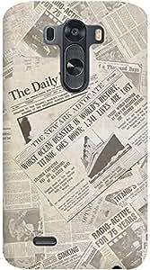 Kasemantra News Papers Case For LG G3 D855