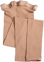 Capezio Big Girls\' Ultra Soft Stirrup Tight Socks, Light Suntan, One Size