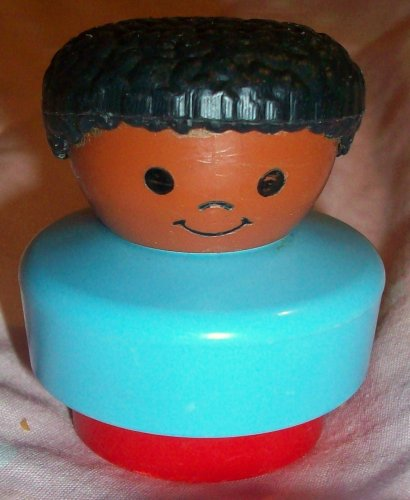 Buy Low Price Mattel Fisher Price Little People African American Vintage Boy Replacement Figure Doll Toy (B0025JLWHO)