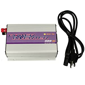 iMeshbean® New 300W Small Grid Tie Power Inverter Converter for Solar Panel System 10.8-30V DC 110VAC 92% Efficiecy