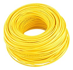 Lapp Kabel 1 sq mm Electrical Cable (Yellow, 1 Piece)