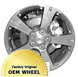 Pontiac Vibe 18X7 5-4 39Mm Offset 5 Spoke Factory Oem Wheel Rim – Machined Face Grey Finish – Remanufactured