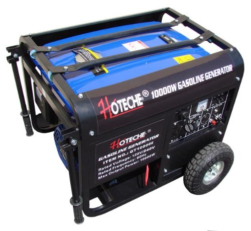 10,000 Watt Generator Hoteche Free Wheel & Handle Kit + Battery