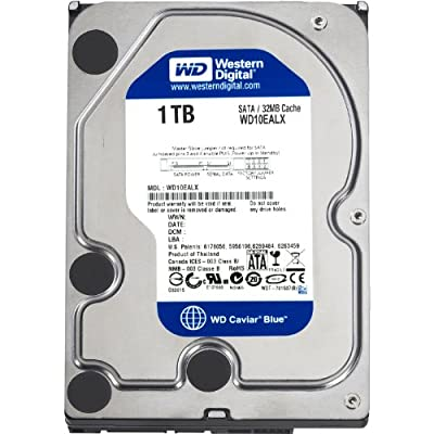 1TB Western Digital Caviar Blue SATAIII 6Gb/s 32MB Cache 3.5 Inch Internal Hard Drive - OEM by Western Digital