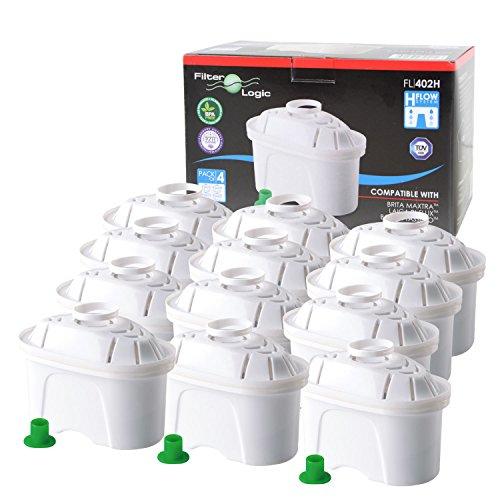 Cartuccia compatibile Brita Maxtra - Filtri caraffe filtranti (set di 12)